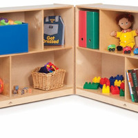 Whitney Brothers Toddler 24-inch Fold & Roll Storage WB0552
