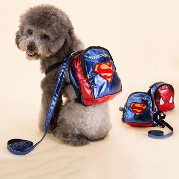 LMFGC3 Cool Sport Dog Cat Backpacks Durable Bags All Seasons For Pet Dog Blue Red Color S M L Dog Product Free Shipping