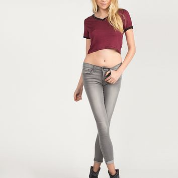 Everyday Classic Gray Skinny Jeans