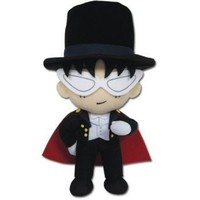 "Great Eastern Sailor Moon Tuxedo Mask Series 9"" Plush"