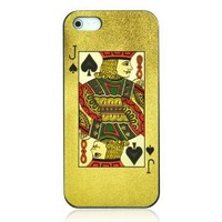Poker Spade J Case For iPhone 5