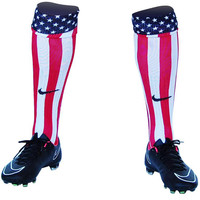 USA Custom Sublimated Nike Soccer Socks