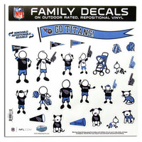 "Tennessee Titans 11""x11"" Family Car Decal Sheet"