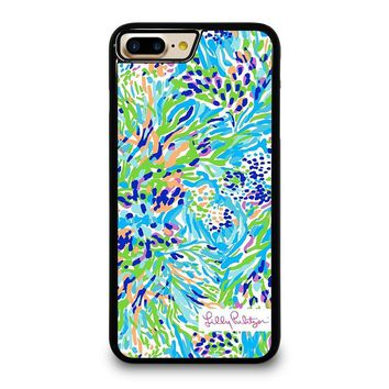 LILLY PULITZER SEA SOIREE iPhone 4/4S 5/5S/SE 5C 6/6S 7 8 Plus X Case