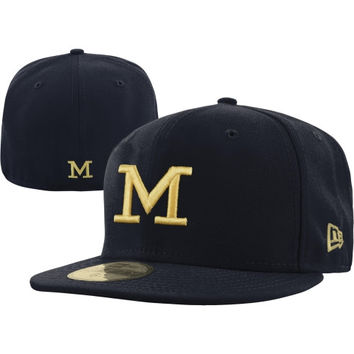 New Era Michigan Wolverines 59FIFTY Basic Fitted Hat