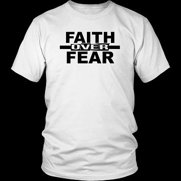 Faith Over Fear - A Reach.Clothing Original Design