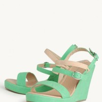 margarita strappy wedges at ShopRuche.com