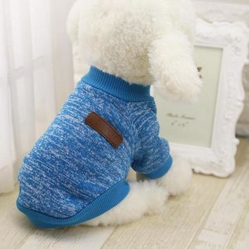 Warm Winter Dog Sweaters