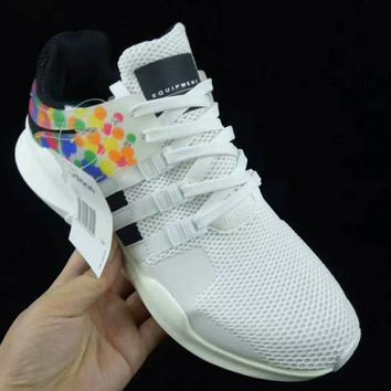 Adidas EQT Support Adv Prioe Fashion Casual Running Rainbow Color Sneakers Sport Shoes