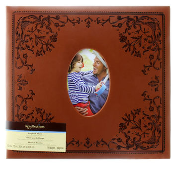 Mega Scrapbook Album by Recollections®, Brown
