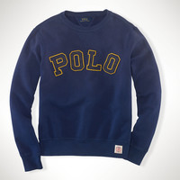 """POLO"" FLEECE SWEATSHIRT"