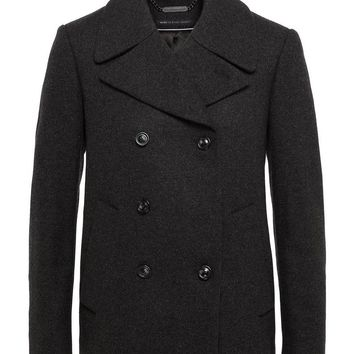 NICHOLAS WOOL DOUBLE BREASTED PEACOAT