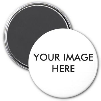 Personalized 3 Inch Round Magnet