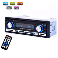 JSD-20158 V2.0 Stereo MP3 Player/FM/SD/AUX/USB/Bluetooth Car In-Dash Radio Input Receiver