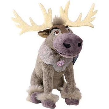 "Disney Frozen Talking Bean Bag Sven 8"" Plush Doll"