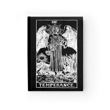 Temperance Tarot Card Notebook