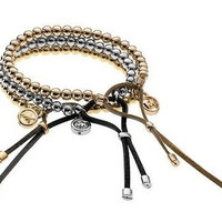 Awesome Christmas Gift for Her Shiny Jewelry Vintage Alloy Stylish Copper Bead Bracelet [9664459791]