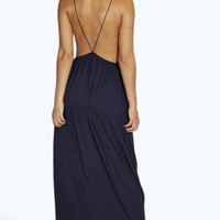 Laura Strappy Back Maxi Dress