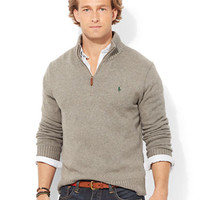Polo Ralph Lauren Half-Zip Mockneck Sweater