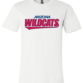 Official NCAA Venley University of Arizona Wildcats U of A Wilber Wildcat BEAR DOWN! Unisex T-Shirt - 27ua-B