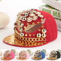 High Quality Spiked Rivets Cap
