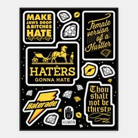 Haters Gonna Hate Theme Stickers