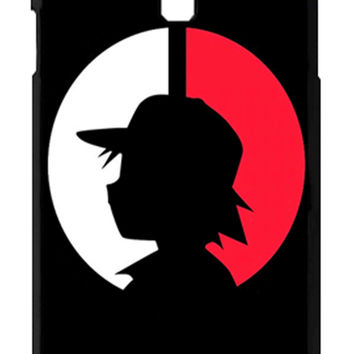 Pokemon Ash Ketchum Samsung Galaxy S4 Cases - Hard Plastic, Rubber Case