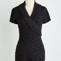 Mid-length Sleeveless The Layer the Land Sweater in Pepper