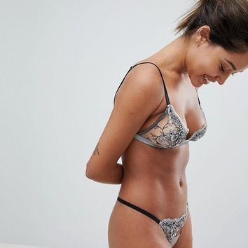 Pamela Loves Coco de Mer Femme Triangle Bra at asos.com