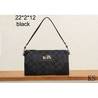 COACH 2018 Women's Wild Fashion Shoulder Bag Handbag Crossbody Bag F-KSPJ-BBDL Black