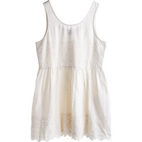 MTWTFSS Weekday Story Dress Lt Beige