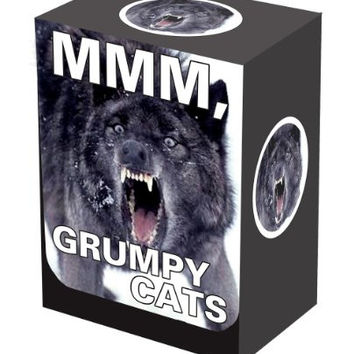 MMM, Grumpy Cats LEGION Wolf -Deck Box for Magic/MTG/Pokemon Cards