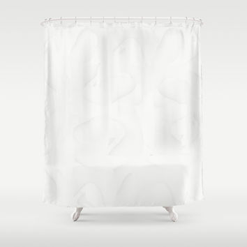 Saltpan Gray Nurse Shower Curtain by deluxephotos
