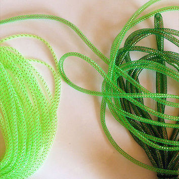 Deco Flex Mesh Tube for Wreaths, 10-yard, 8mm