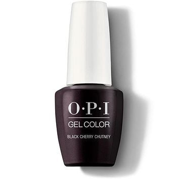 OPI GelColor - Black Cherry Chutney 0.5 oz - #GCI43