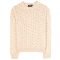 mytheresa.com -  Jenny pointelle sweater  - Luxury Fashion for Women / Designer clothing, shoes, bags