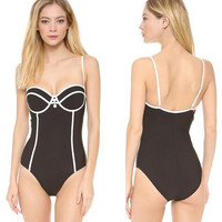7354872 WAS THIN TRIANGULAR CONJOINED SWIMSUIT