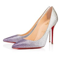 christian/louboutin New Women's 100MM High Heel Banquet Shoes