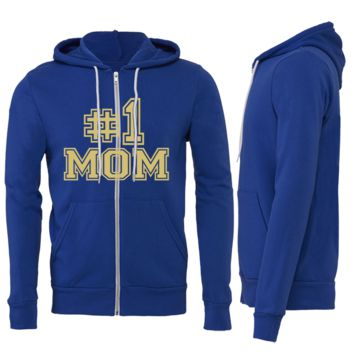 Copy of #1 Mom Zipper Hoodie