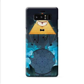 Bill Cipher 3 Gravity Falls Samsung Galaxy Note 8 case