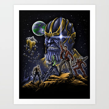 Dance Wars Art Print by Punksthetic
