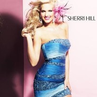 Sherri Hill 1488  Sherri Hill amandalinas specializing in bridal gowns, evening wear , prom dresses, mother of the bride and groom dresses,
