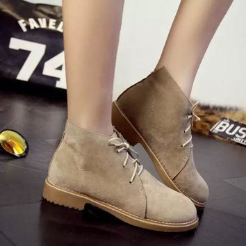 VLX2WL Korean Ladies Casual Shoes Boots [9432939786]