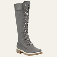 Women's 14-Inch Premium Side-Zip Lace Waterproof Boots | Shop at Timberland