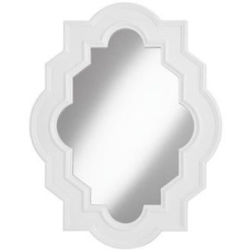 "White Casbah 45"" High Decorative Wall Mirror: Amazon.ca: Home & Kitchen"