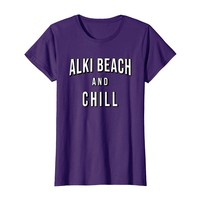 ALKI BEACH T-shirt and CHILL