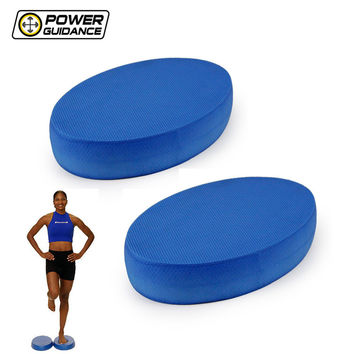POWER GUIDANCE 2PCS Balance Pad  New Stability Balance Trainer - for Yoga Elite Exercise Training Non Slip Exercise Posture Soft