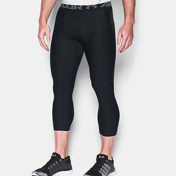 "Under Armour Men's UA HeatGear Armour Compression 3/4"" Leggings"