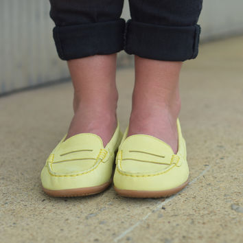 Katherine Ceil by Hush Puppies {Light Yellow Nubuck} | HW05282-745
