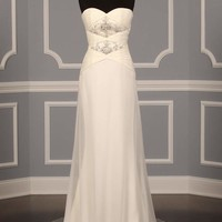 BADGLEY MISCHKA MERCURY WEDDING DRESS